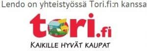 Lendo on yhteistyössä Tori.fi palvelun kanssa