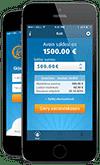 Ferratum mobiilisovelluksella siirät rahaa tilille parissa minuutissa