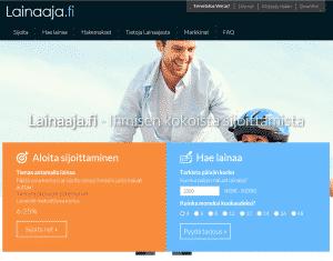 Lainaaja.fi on erittäin toimiva vertaislainapalvelu