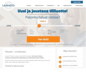 Lainastolta rahoitusta 100-2000 euroa