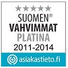Fixura on voittanut Suomen vahvimmat palkinnon 2011-2014