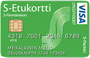 S-visa on mainio luottokortti